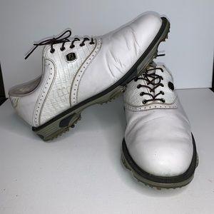 Footjoy Golf Shoes 53607 White Size 8 1/2 M W